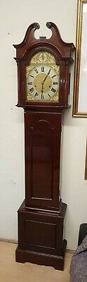 Mahogany 1920s Westminster chime longcase Grandfather Clock