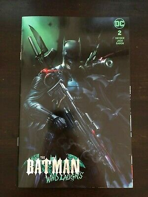 Batman Who Laughs #2 Mattina Trade Dress Cover NM 9.4 Unread DC 2019
