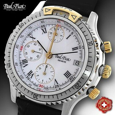 Paul Picot, Automatic Chrono, U-Boot, Legend Movement Lemania 5100, Swiss Made!