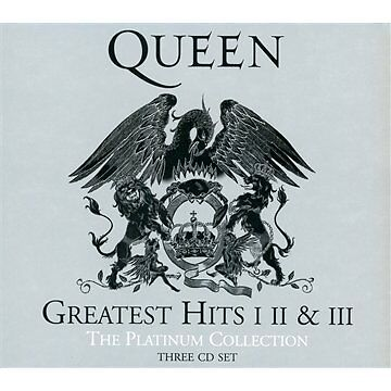 Queen - Platinum Collection, Greatest Hits I, II & III (Vol. 1-3) 3 CD SET
