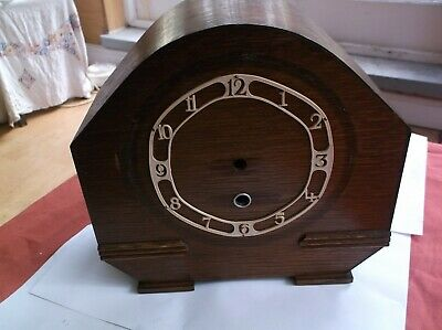 A Small  Mantle Clock Case (Wooden Case Only)For Restoration