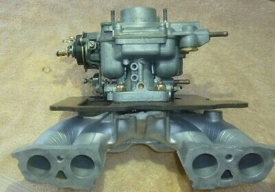 Rebuilt Weber 34 DATR carb on Fiat X 1/9 or Fiat Zastava 128 manifold Pipercross