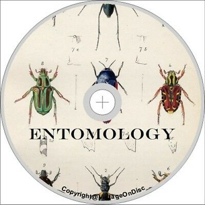 Entomology 300 Books on DVD Rom Spiders Ants Wasps Beetles