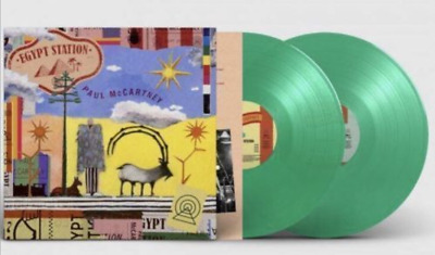 Paul McCartney - Egypt Station, Spotify Double Limited Green Vinyl LP UK Seller