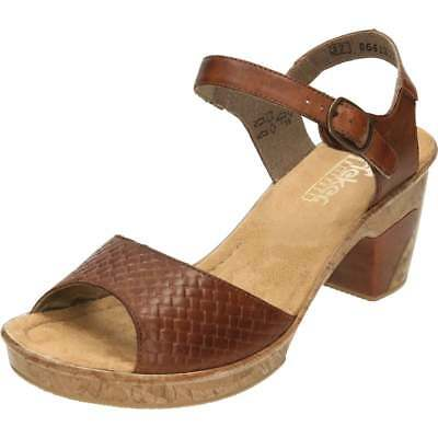 3f4c5296c Brand New Women s Rieker Brown Sandals UK Size 6.5 EU Size 40