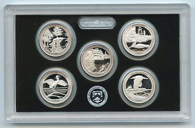 2018 National Park Quarter Silver PROOF Set - ATB America Beautiful - US Mint