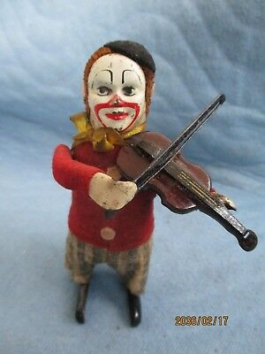 Schuco Tanzfigur Clown mit Violine MADE IN GERMANY