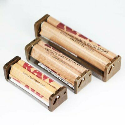 RAW Hemp Coated Plastic Cigarette Genuine Roller Rolling Machine 70mm/79mm/110mm
