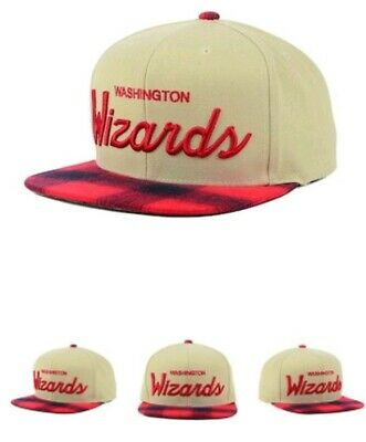 huge selection of 1f011 8b1a6 Washington Wizards Mitchell   Ness NBA 2 Plaid Snapback Cap