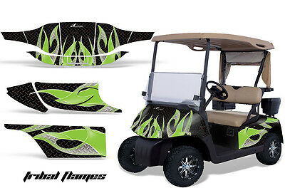 Golf Cart Graphics Kit Decal Sticker Wrap For 2 Seat EZ-Go TXT 94-13 TRIBAL G K