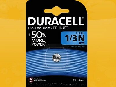 20 X Duracell Ultra Photo 1/3n 2l 76 Dl1/3n Cr1/3n Cr11108 Lithium Batteries