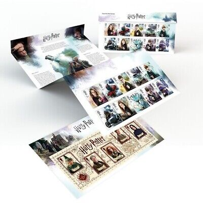 Harry Potter Stamp Collection Presentation Pack Royal Mail