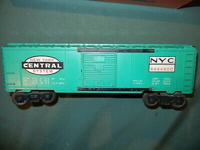 Lionel 6464-900 New York Central Jade Green-Painted Boxcar Doors pkg. of 2