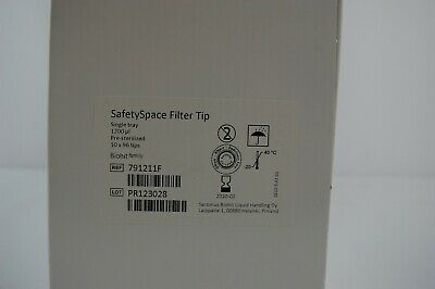 Sartorius 791211F 10 x 96 1200µl Filter Pipette Tips 960/pack single tray