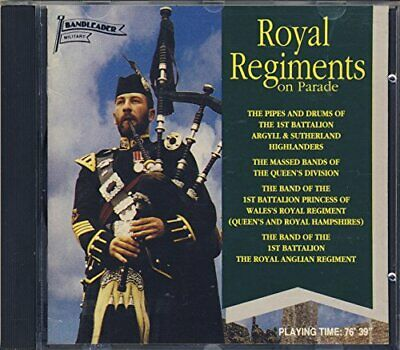 Royal Regiments On Parade -  CD CUVG The Cheap Fast Free Post The Cheap Fast