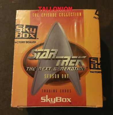 1994 Skybox Star Trek TNG The Next Generation Season 1 Factory Sealed Card Box