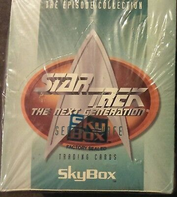 1995 Skybox Star Trek TNG The Next Generation Season 3 Factory Sealed Card Box