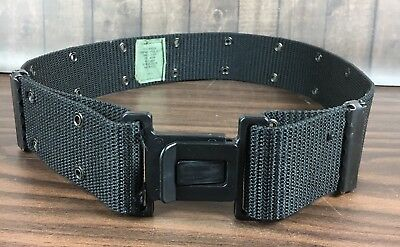 US Military Issue LC2 Individual Equipment Web Pistol Belt Nylon Green Alice L