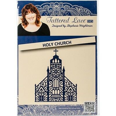 Tattered Lace Metal Die - Holy Church