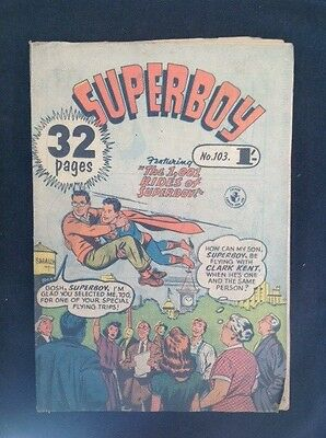 "SUPERBOY No. 103 "" THE 1001 RIDES OF SUPERBOY! """