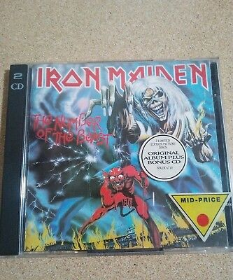 Iron Maiden-The Number Of The Beast,2 Cd,nwobhm