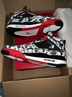 sale retailer 749af b11dc Nike Air Jordan 4 Retro  Tattoo    Size UK 10  US 11