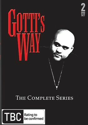 Z5 BRAND NEW SEALED Gotti's way - The Complete Series (DVD, 2009, 2-Disc Set)