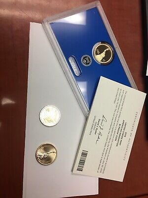 2018 P D S American Innovation Dollars Golden Proof + Box & COA 3 Coins PDS