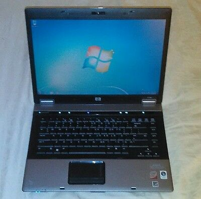 "HP Compaq 6730b 15.4""  Core 2 Duo 2.53GHz 2GB 110GB HDD DVD RW Webcam Win 7"