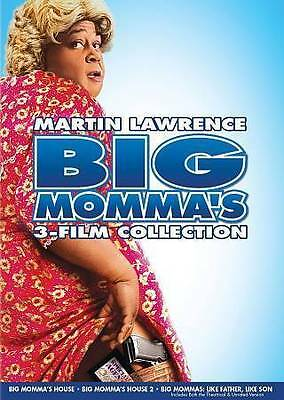 Big Momma's 3 Film Collection - DVD Region 1 Martin Lawrence