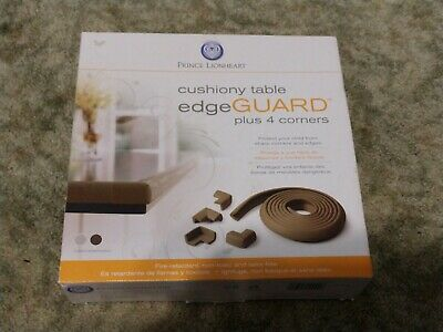 Prince Lionheart Table Edge Guard With 4 Corners (neutral) - Cushiony 12ft Roll
