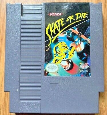 SKATE OR DIE Nintendo (NES) Video Game - Cartridge Only *TESTED*