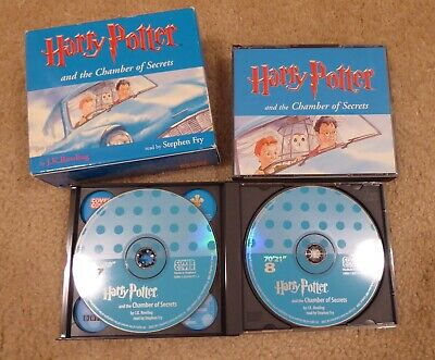 Harry Potter & the Chamber of Secrets audio CDs read by Stephen Fry - US seller!