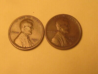 1920 D & S Lincoln Wheat Cent Penny in VF Very Fine Condition