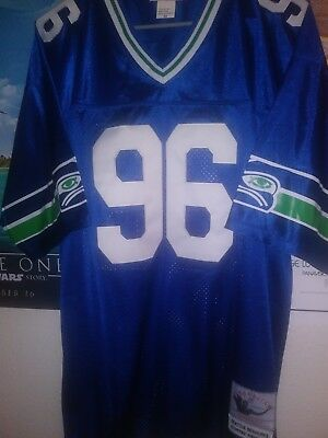 MITCHELL   NESS Seattle Seahawks Cortez Kennedy TC Jersey -  150.00 ... 28ef37ee2