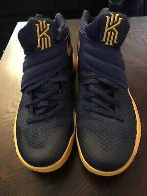 brand new 7c27f 7c265 Men s Nike Kyrie 2 Midnight Navy Gold