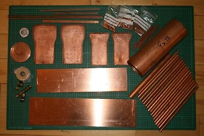 "Copper boiler kit for 5"" 0-4-2 Didcot locomotive with flanged plates"