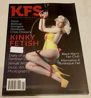Vintage Collectable KFS Fetish Magazine Issue #1 From KFS Media