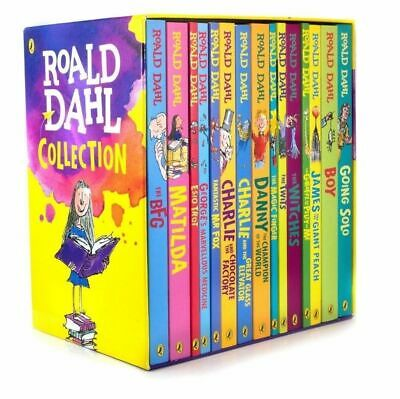 Brand New ROALD DAHL COLLECTION 15 Books Box Set - The World's No.1 Storyteller