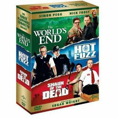 The World's End/Hot Fuzz/Shaun of the Dead [DVD] [2004] DVD