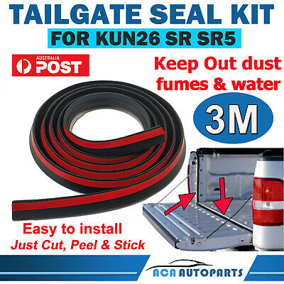 Tailgate Seal Kit for Toyota Hilux SR5 SR UTE Rubber Dust Tail Gate Seal AUSSIE!