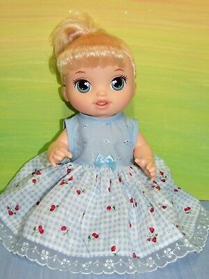 "Dolls clothes for 13"" BABY ALIVE / MY MOMMY DOLL~Dress~Headband~Bloomers"