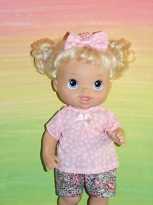 "Dolls clothes for 13"" BABY ALIVE / MY MOMMY DOLL~Top~Shorts~Headband"