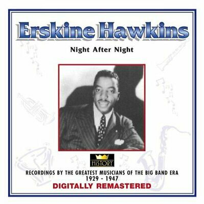 Erskine Hawkins - Night After Night - Erskine Hawkins CD 2AVG The Cheap Fast The
