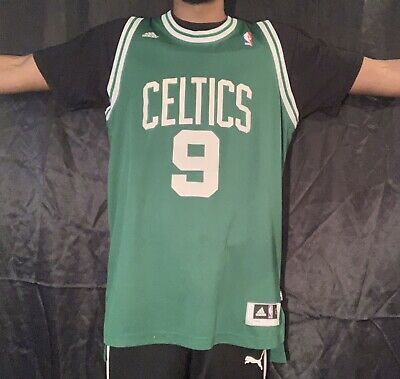 best website d5021 8f34d AUTHENTIC RAJON RONDO Adidas Boston Celtics Jersey Size L +2 Length