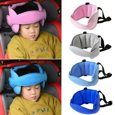 Baby Safety Car Seat Sleep Nap Aid Kids Solid Head Support Holder Protector Belt