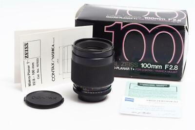 Carl Zeiss f. Contax Yashica 2.8/100mm Makro-Planar T* AE