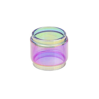 2PCS Replacement Rainbow Bubble Glass Tube For 1smok STICK V9 MAX 8.5ml