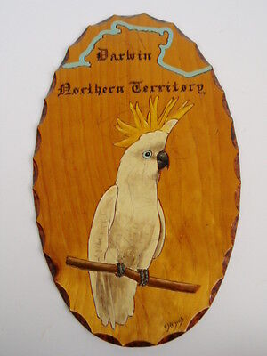Cocky Plaque From Darwin