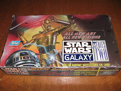 ✭ Star Wars Galaxy Series 2 New Art Etched Foil Insert cards  ✭